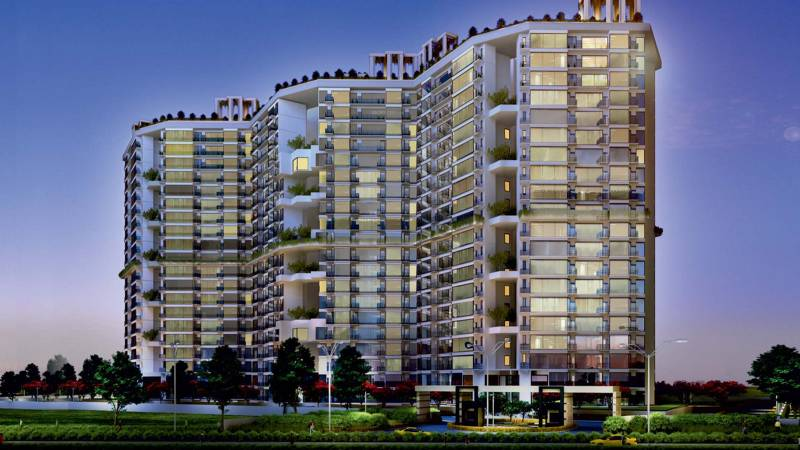 Images for Elevation of Raheja Vanya
