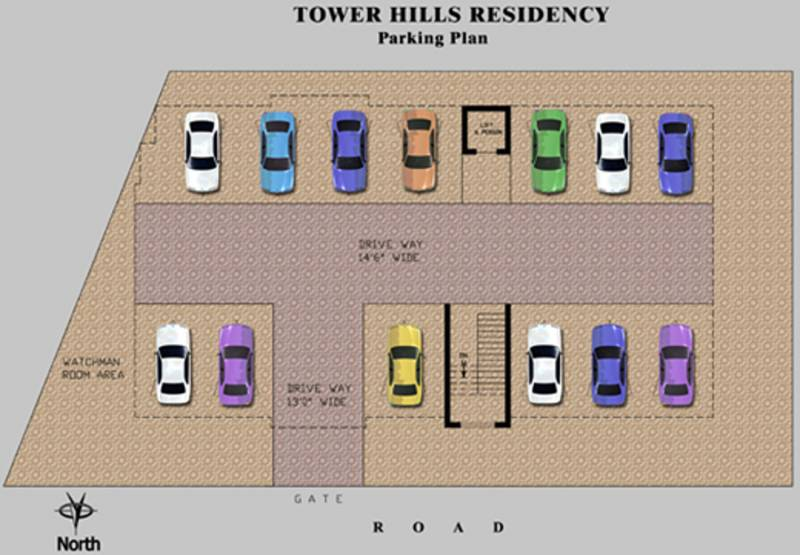 Images for Cluster Plan of Trust Tower Hills Residency