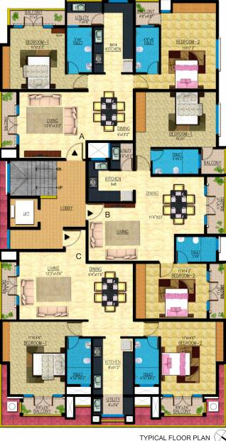 Images for Cluster Plan of Emerald Smart Homes Builders Emerald Icon