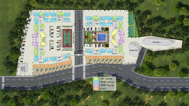 Images for Cluster Plan of Suresh Kashinath Haware Haware Paradise