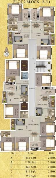 marvella Images for Cluster Plan of Rajwada Marvella