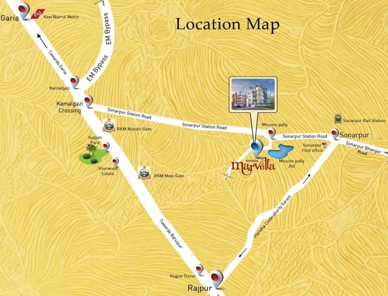marvella Images for Location Plan of Rajwada Marvella