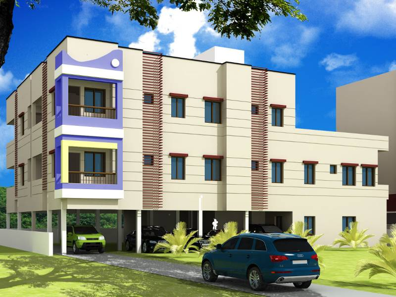 Images for Elevation of VijaySaras Builders Podhigai Apartments Phase II