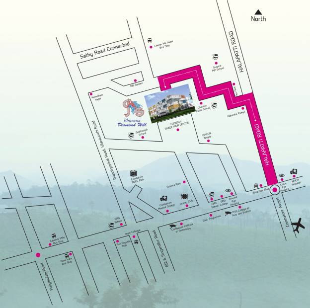 Images for Location Plan of Bhuvana Diamond Hill