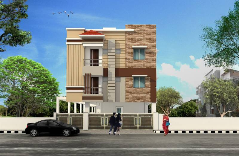 Images for Elevation of VijaySaras Vijay Manor Ramasamy Street