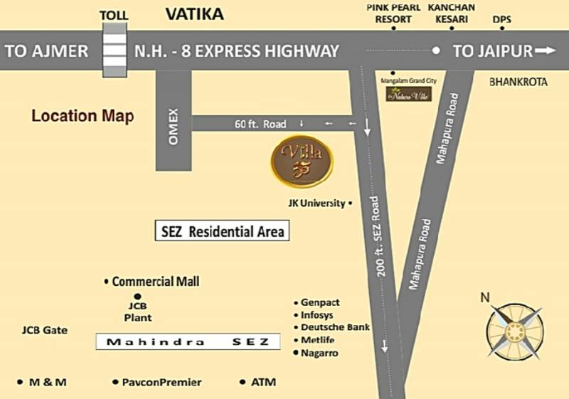 Images for Location Plan of Pinkwall Villa 55