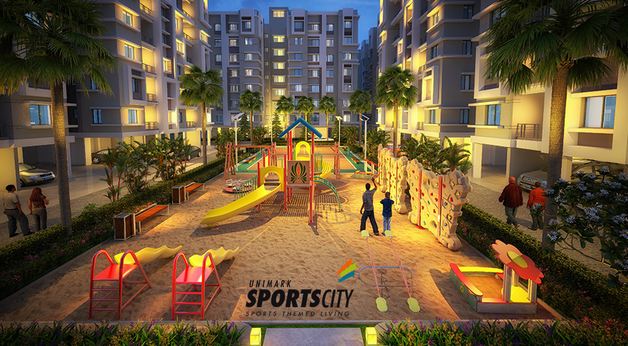 Unimark Sports City In Barasat Kolkata Price Location