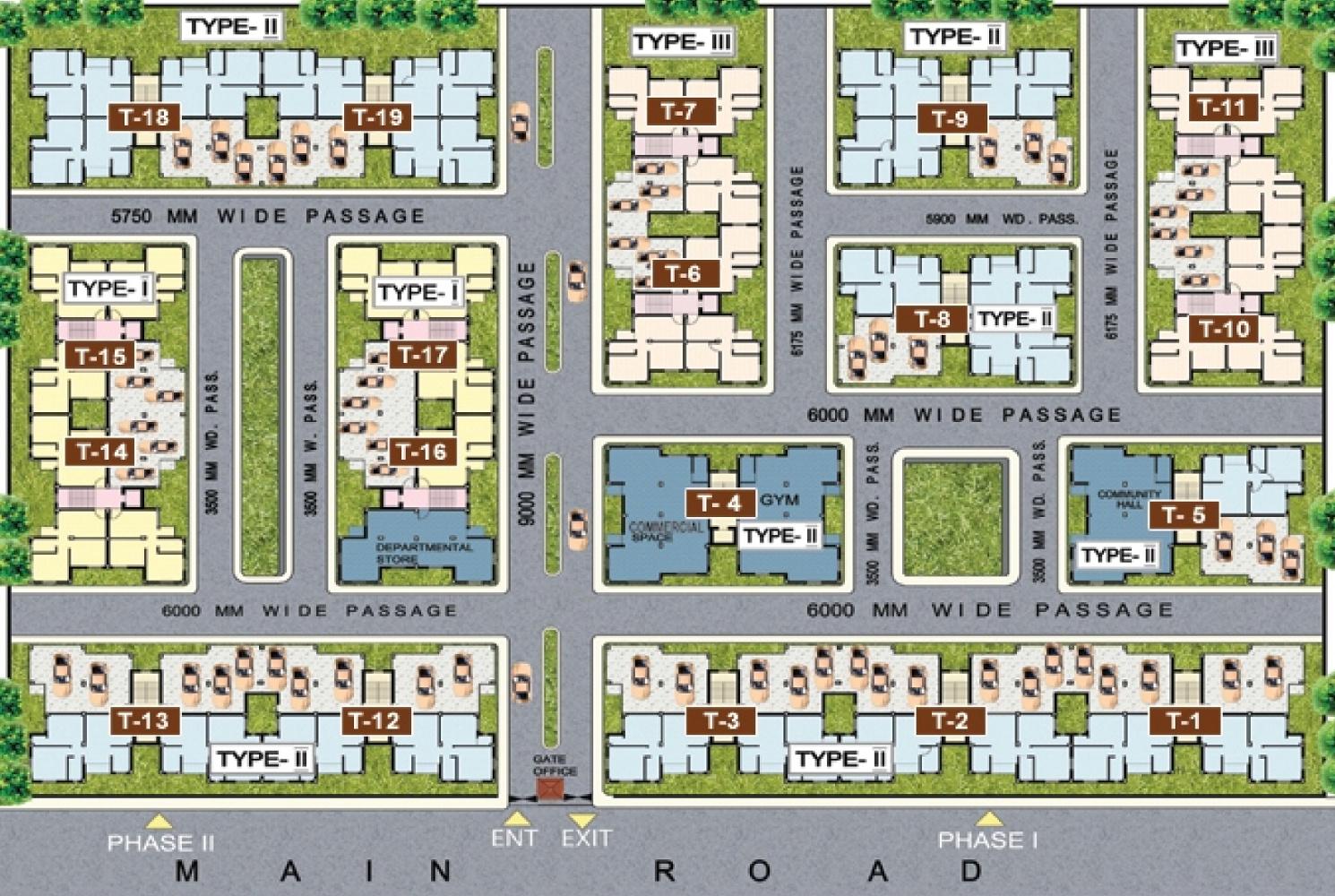 Golden Golden Valley Housing Complex in Joka, Kolkata - Price ...