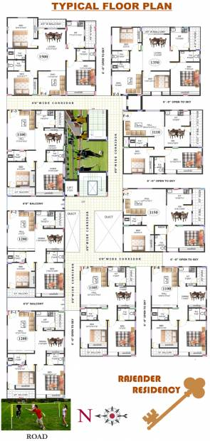 Images for Cluster Plan of PRK Rajender Residency
