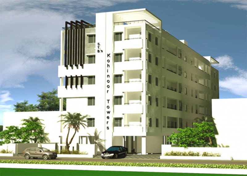 Images for Elevation of KM Kohinoor STB Kohinoor Towers