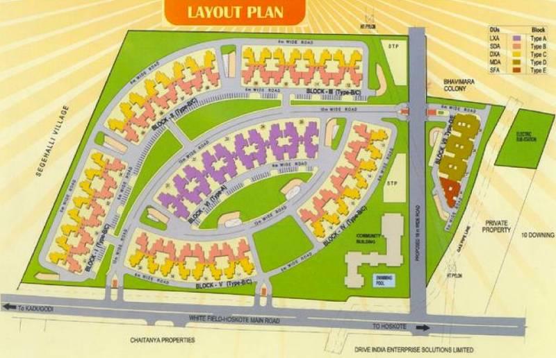 Images for Layout Plan of AWHO Delhi Sandeep Vihar