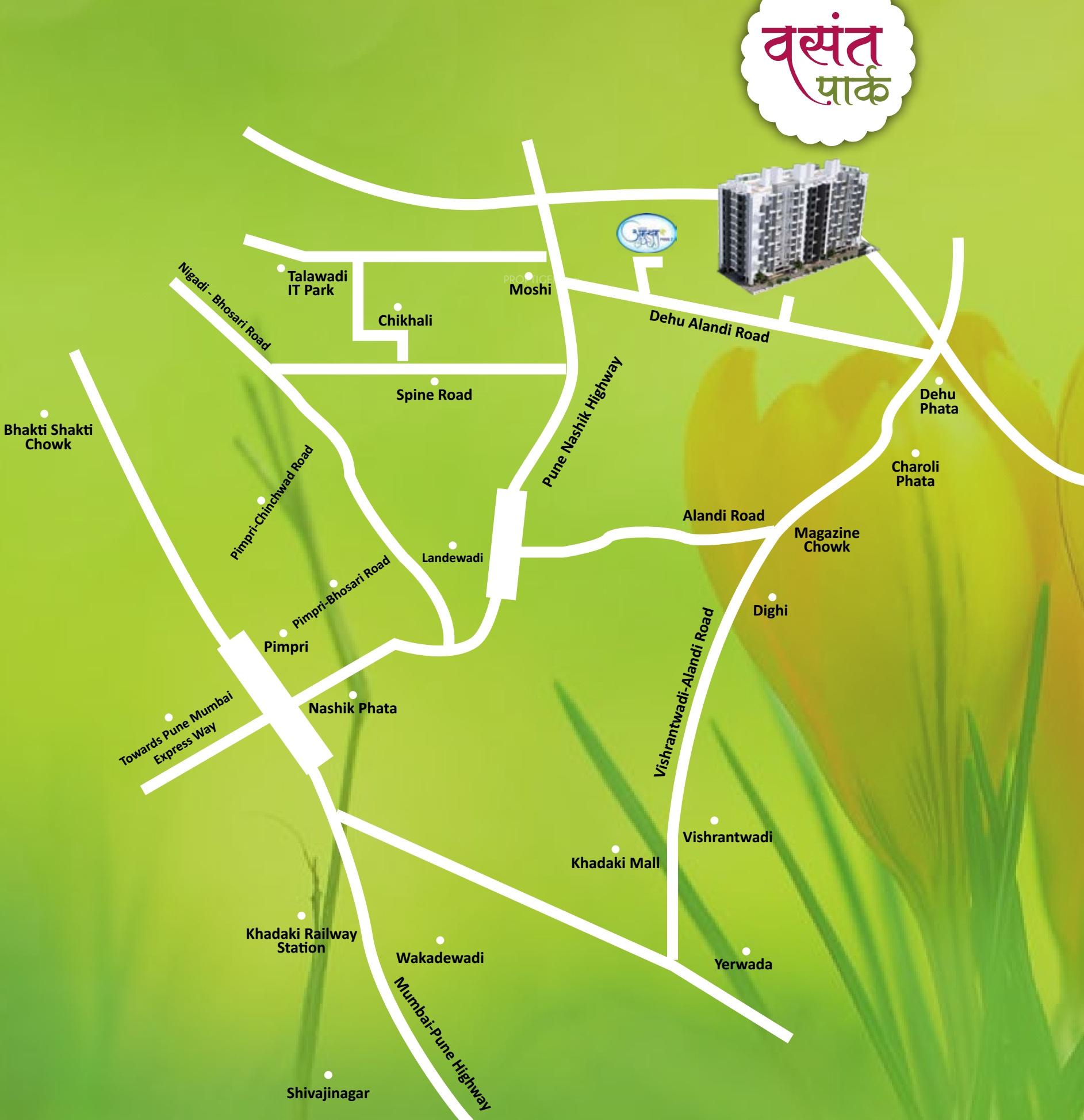 United Properties Vasant Park In Alandi Pune Price