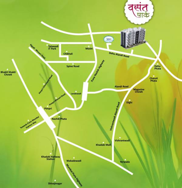 Images for Location Plan of United Properties Vasant Park