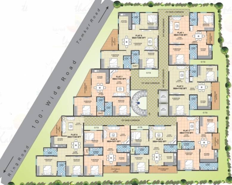 Images for Cluster Plan of Flourish Kalpatharu