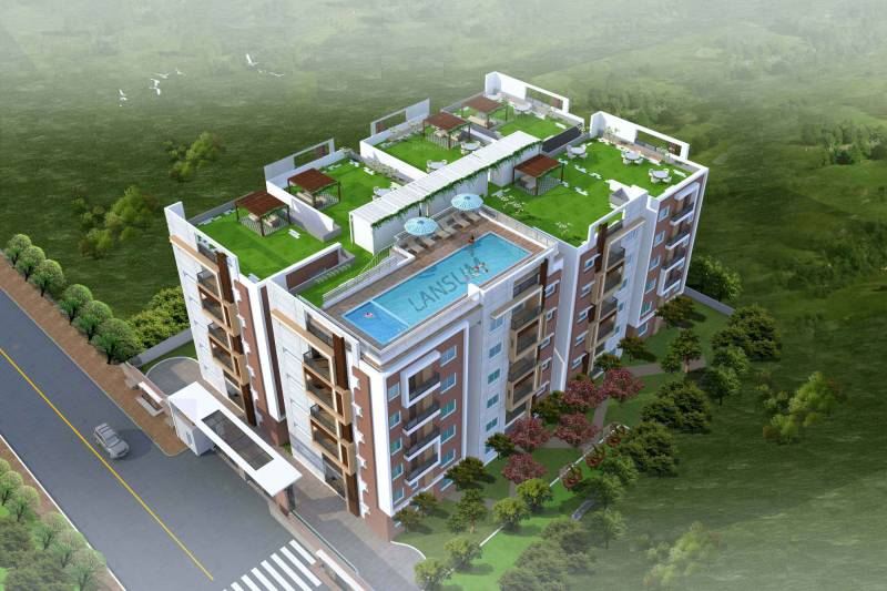 Images for Elevation of Lansum Madhav Towers