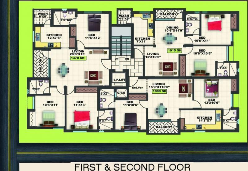 Images for Cluster Plan of Sekaran Sherwood Terrace