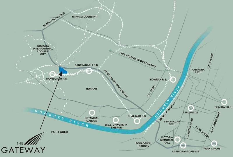 the-gateway Images for Location Plan of Unitech The Gateway