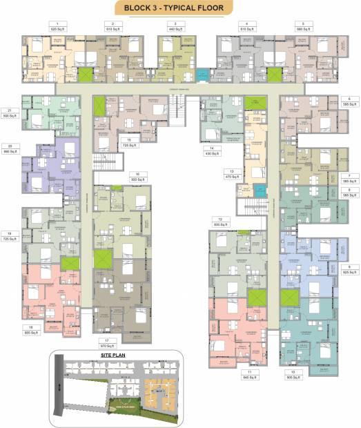 Images for Cluster Plan of Arun Sankara