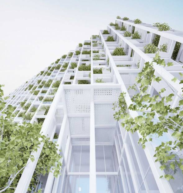 Images for Elevation of Pooja Tree Storey