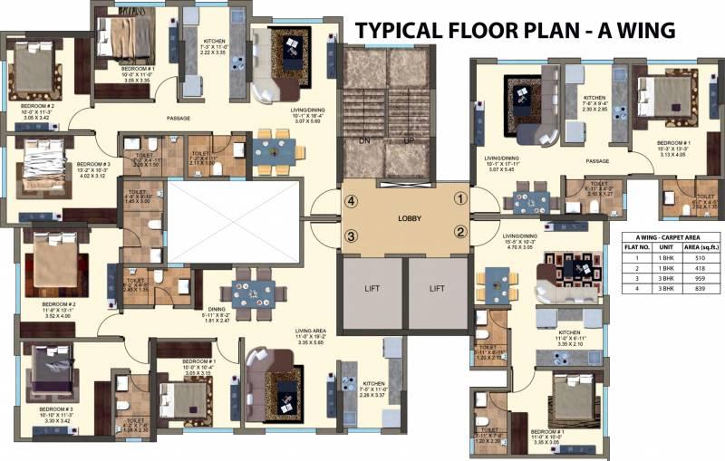 Images for Cluster Plan of Kanakia Zenworld Phase I