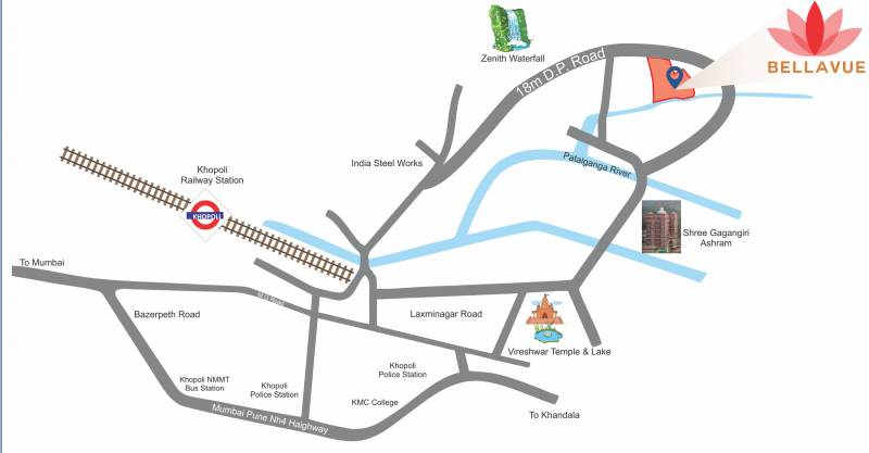 Images for Location Plan of Bhakti Bellavue