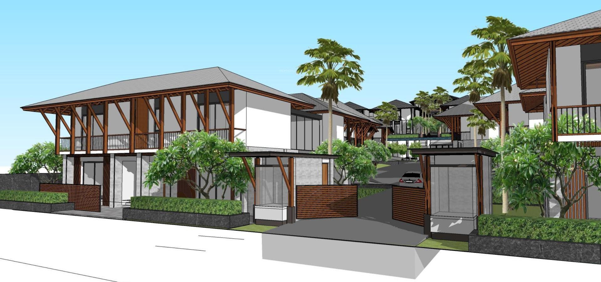 Resort Elevation Plan : Master plan sun estates developers nerul resort villas