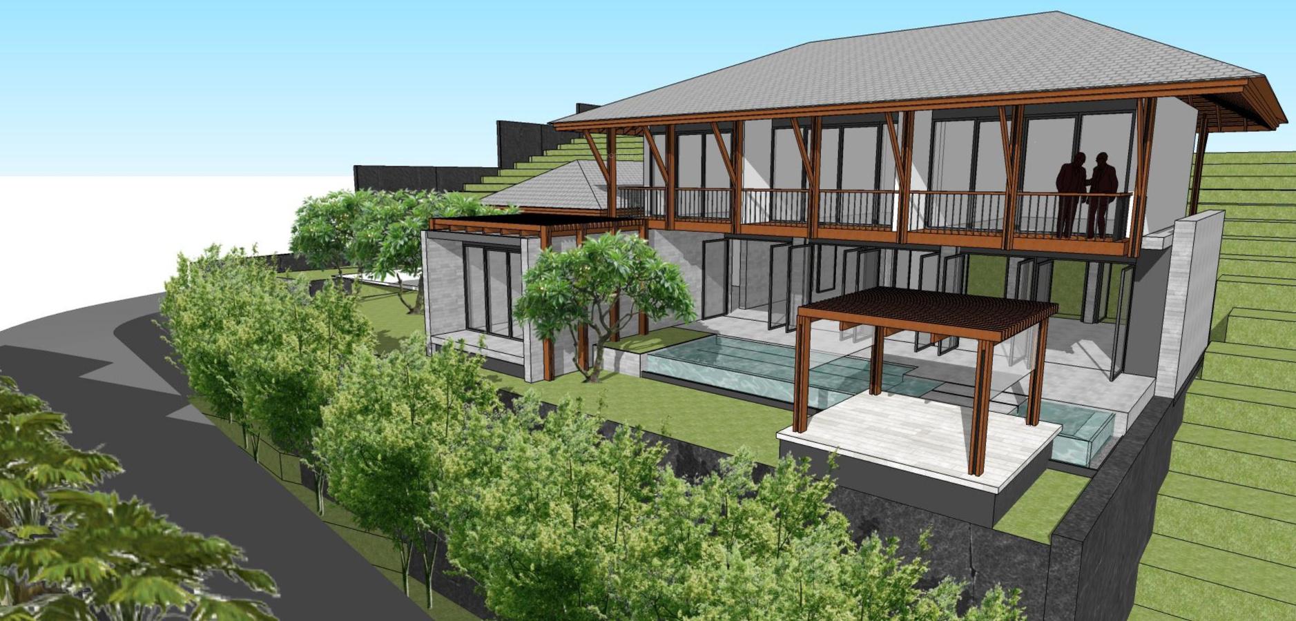 2234 sq ft 3 bhk 4t villa for sale in sun estates for Villas elevations photo gallery