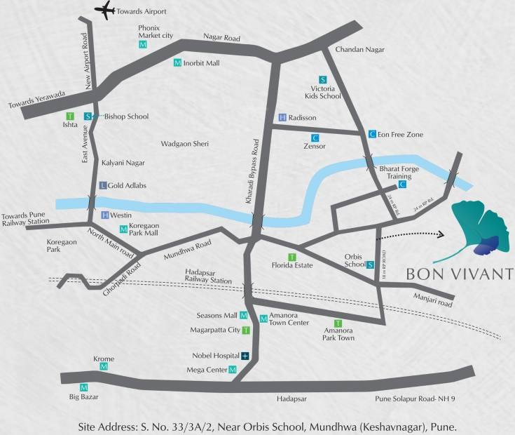 Images for Location Plan of Malkani Bon Vivant