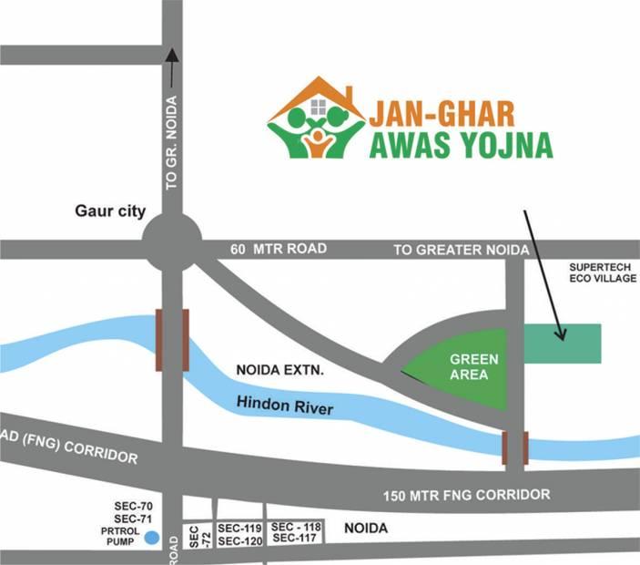Images for Location Plan of Aadhaar Jan Ghar Awas Yojna