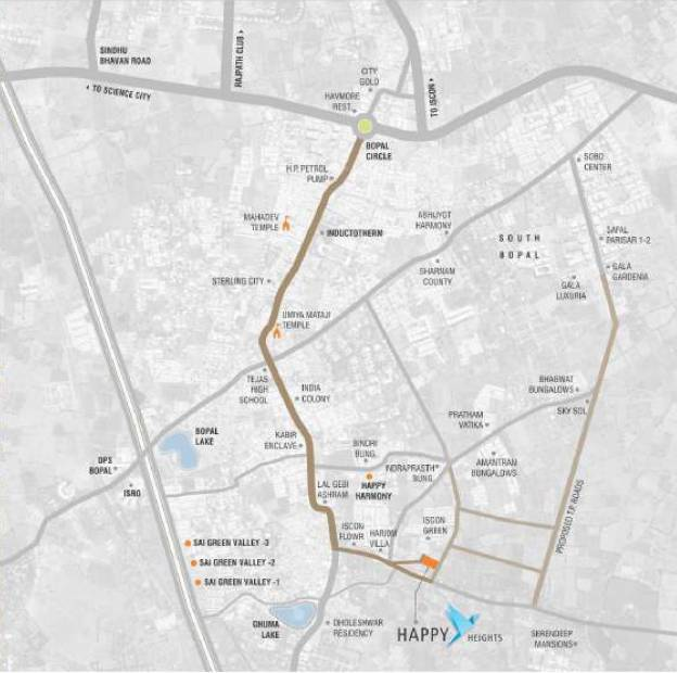 Images for Location Plan of Prerna Happy Heights