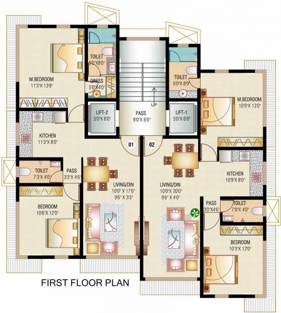 Images for Cluster Plan of JPV Pratap Villa