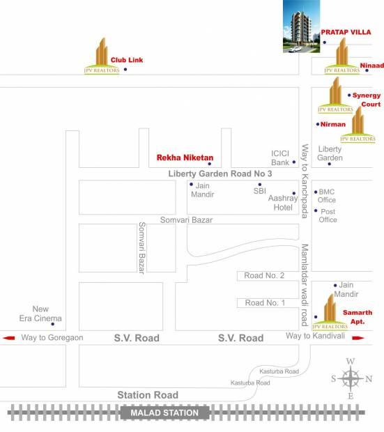Images for Location Plan of JPV Pratap Villa