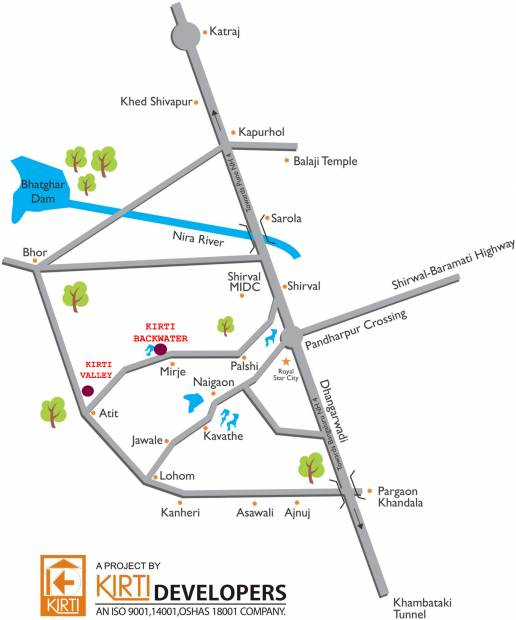 Images for Location Plan of Kirti Backwater