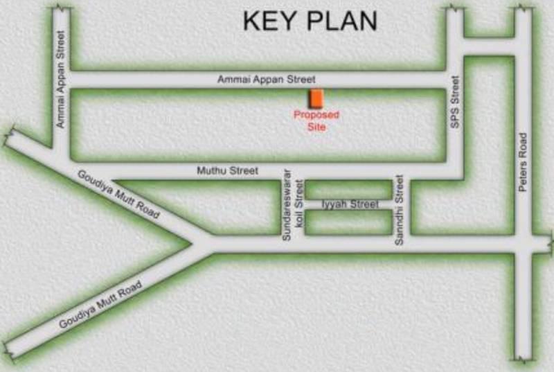 Images for Location Plan of KE Shakthi Enclave