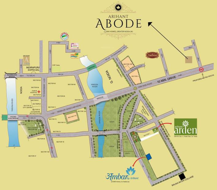 Images for Location Plan of Arihant Abode