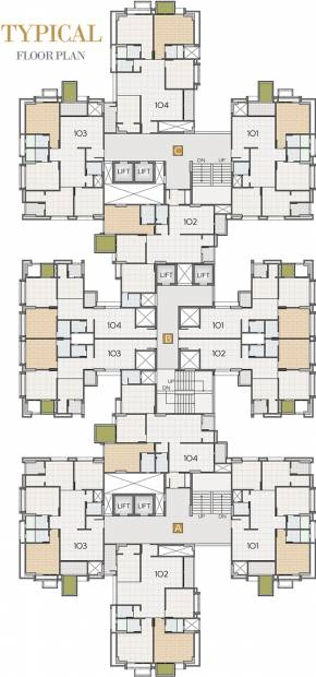 Images for Cluster Plan of Dwarkesh Opulence