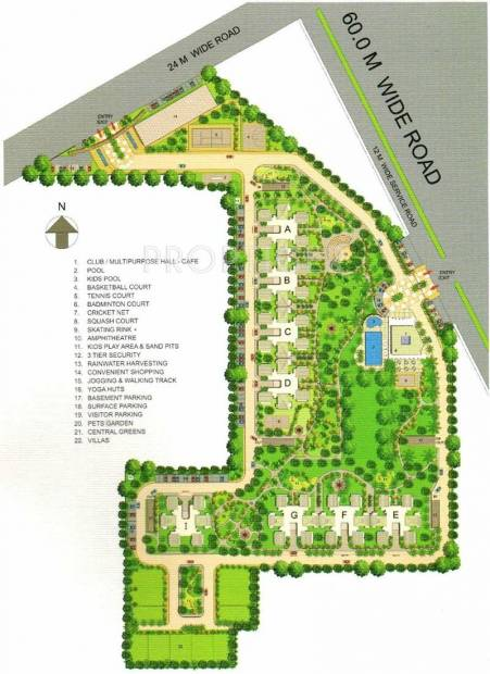 park-view-ananda Images for Layout Plan of Bestech Park View Ananda