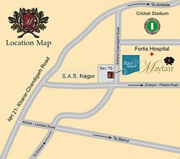 Soul Space Mayfair Location Plan