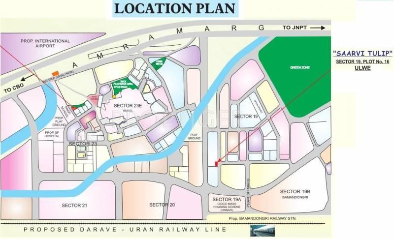 Images for Location Plan of Saarvi Saarvi Tulip