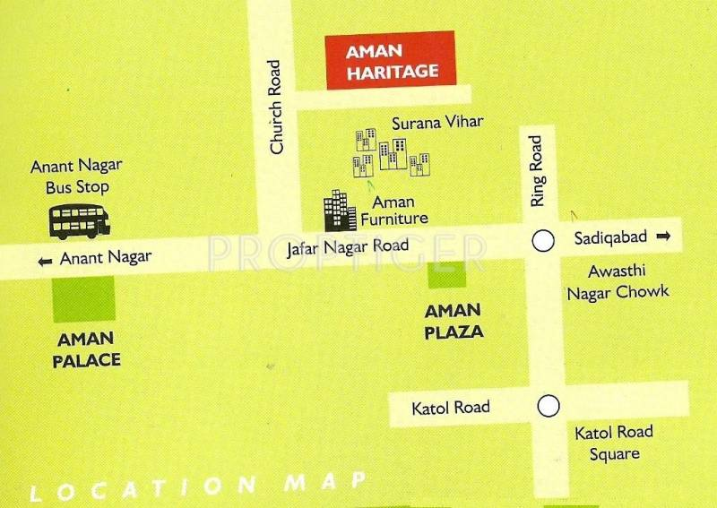 Images for Location Plan of Green Amans Heritage A