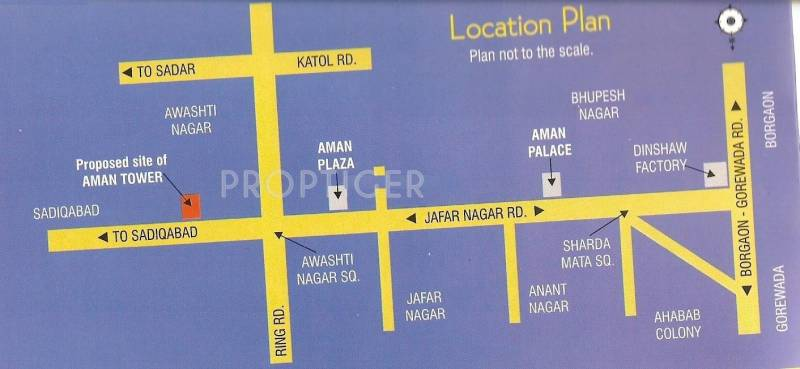 Images for Location Plan of Green Amans Tower