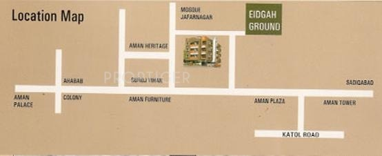 Images for Location Plan of Green Amans Galaxy