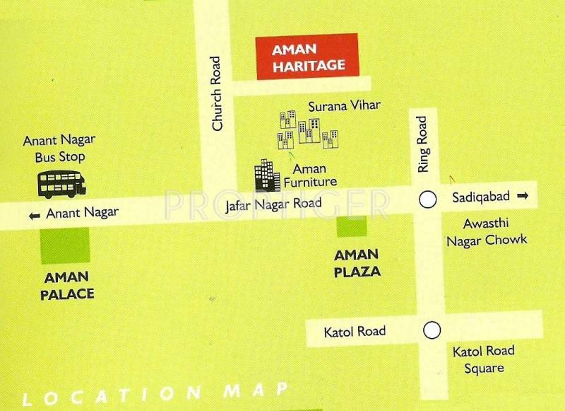 Images for Location Plan of Green Amans Heritage C