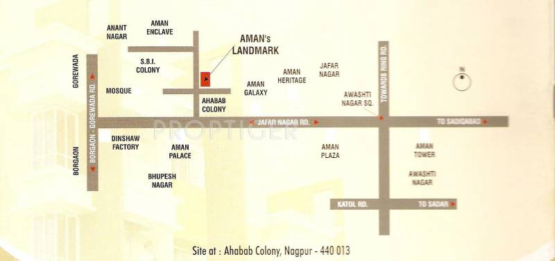 Images for Location Plan of Green Amans Landmark