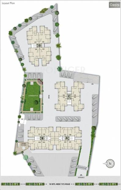 Images for Layout Plan of Sahajanand Oasis