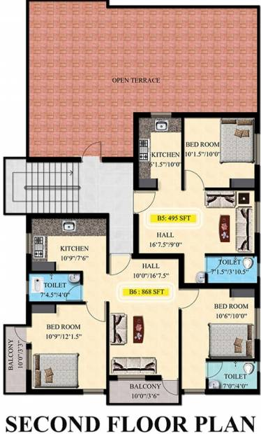 Images for Cluster Plan of JMM Anemone Apartments