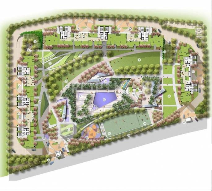 Images for Master Plan of Prateek Edifice