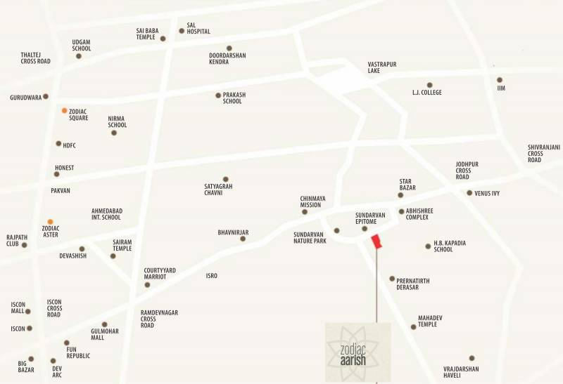 aarish Images for Location Plan of Zodiac Aarish