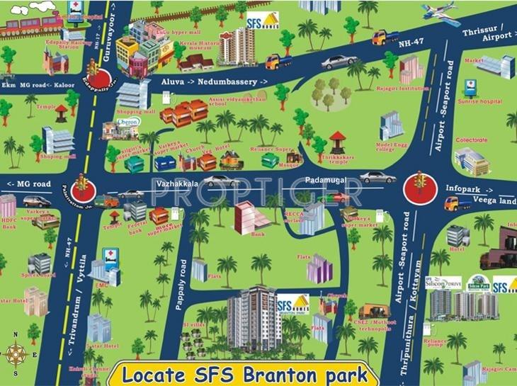SFS Homes Branton Park Location Plan