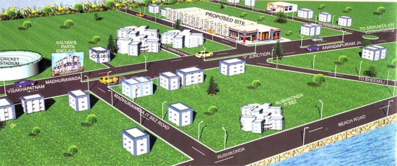 Images for Location Plan of Satya Kalyans Patra Technopolis